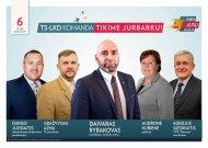 Tėvynės sąjungos - Lietuvos krikščionių demokratų sveikinimas Jurbarko bendruomenei