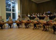 Atnaujinta Jurbarko Antano Sodeikos meno mokyklos salė įkvepia naujovėms