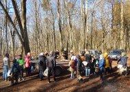 Jurbarko miškininkai su mokiniais surengė sutiktuves sparnuočiams