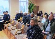 Jurbarkų seniūnijos gyventojai žėrė priekaištus ir valdžiai, ir policijai