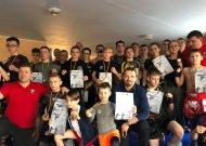 """Sporto klube """"Pantera"""" vyko atviras Jurbarko moksleivių  MMA/kikbokso turnyras"""