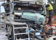 Vokietijoje sunkvežimio avarijoje žuvo du jurbarkiečiai.