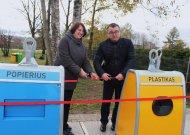 Jaunimo parke – neįprastas renginys prie naujų konteinerių