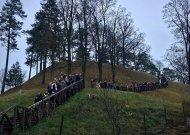 Jurbarko krašto jaunųjų šaulių sąskrydis Veliuonoje