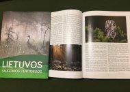 Pristato naują knygą apie Lietuvos saugomas teritorijas