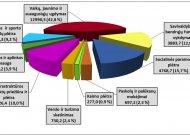 Planuojama 2020 m. rajono savivaldybės biudžeto išlaidų struktūra (tūkst. Eur)