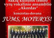 Jurbarkas. Lietuva. Kovo 8-oji – Tarptautinė moterų solidarumo diena!