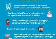 Jurbarko rajone stabdomas ugdymo procesas, draudžiami renginiai