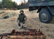 Jurbarko rajone sunaikintas itin retas sprogmenų radinys