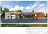 Pateiktas projektinis Jurbarko autobusų stoties pasiūlymas