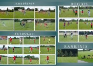 Atnaujinamas sportinio ugdymo procesas