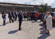 Susitikimas dėl Jurbarko statybininkų gatvės žiedo techninių sprendinių