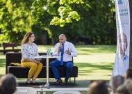 Jurbarke pristatyta D. Rybakovo rinkimų programa bendruomenei