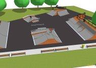 Štai kaip atrodys naujasis riedlenčių parkas