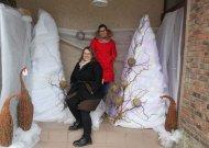 Kalėdinę nuotaiką Jurbarke kuria kūrybinės dirbtuvėlės