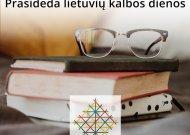 Prasideda Lietuvių kalbos dienos