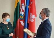 Jurbarko rajono savivaldybės visuomenės sveikatos biuro specialistei – išskirtinis įvertinimas