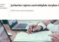 Savivaldybės tarybos ir mero 2020 metų veiklos ataskaitos apžvalga