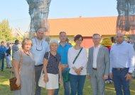 Paskutinis susitikimas su Berlyno Lichtenbergo delegacija per Jurbarko krašto šventę 2019 m. rugpjūčio mėn.