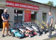 """Prireikus statybos įrankių ar sodo technikos – padės MB """"Arluka"""""""