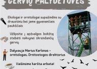 Regioninis parkas kviečia į gervių palydėtuves
