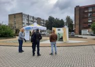 Į  Jurbarką atkeliavo performansas – gyventojai raginami jungtis prie centrinių vandens tiekimo ir nuotekų tinklų
