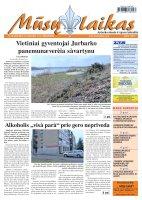 Mūsų Laikas - Jurbarko rajono laikraštis, Nr. 30 (823)