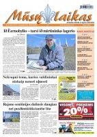Mūsų Laikas - Jurbarko rajono laikraštis, Nr. 31 (824)