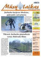 Mūsų Laikas - Jurbarko rajono laikraštis, Nr. 32 (825)