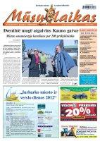 Mūsų Laikas - Jurbarko rajono laikraštis, Nr. 35 (828)