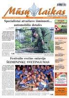 Mūsų Laikas - Jurbarko rajono laikraštis, Nr. 38 (831)