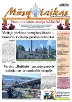 Mūsų Laikas - Jurbarko rajono laikraštis, Nr. 41 (834)