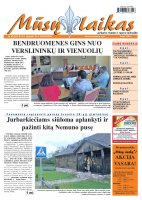 Mūsų Laikas - Jurbarko rajono laikraštis, Nr. 42 (835)