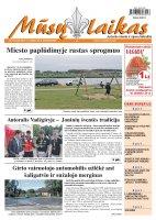 Mūsų Laikas - Jurbarko rajono laikraštis, Nr. 50 (843)