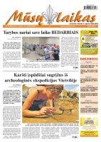 Mūsų Laikas - Jurbarko rajono laikraštis, Nr. 55 (848)