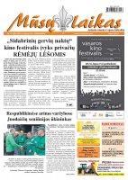 Mūsų Laikas - Jurbarko rajono laikraštis, Nr. 57 (850)