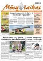 Mūsų Laikas - Jurbarko rajono laikraštis, Nr. 58 (851)