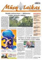 Mūsų Laikas - Jurbarko rajono laikraštis, Nr. 63 (856)