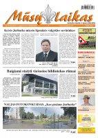 Mūsų Laikas - Jurbarko rajono laikraštis, Nr. 65 (858)