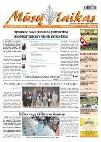 Mūsų Laikas - Jurbarko rajono laikraštis, Nr. 67 (860)