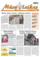 Mūsų Laikas - Jurbarko rajono laikraštis, Nr. 71 (864)