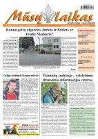Mūsų Laikas - Jurbarko rajono laikraštis, Nr. 72 (865)