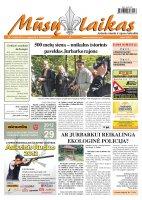 Mūsų Laikas - Jurbarko rajono laikraštis, Nr. 73 (866)