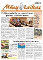 Mūsų Laikas - Jurbarko rajono laikraštis, Nr. 74 (867)
