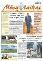 Mūsų Laikas - Jurbarko rajono laikraštis, Nr. 76 (869)