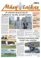 Mūsų Laikas - Jurbarko rajono laikraštis, Nr. 78 (871)