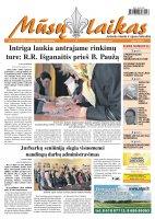 Mūsų Laikas - Jurbarko rajono laikraštis, Nr. 79 (872)