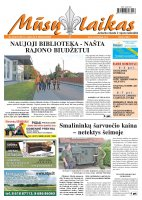 Mūsų Laikas - Jurbarko rajono laikraštis, Nr. 82 (875)