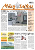 Mūsų Laikas - Jurbarko rajono laikraštis, Nr. 85 (878)