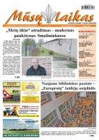 Mūsų Laikas - Jurbarko rajono laikraštis, Nr. 86 (879)